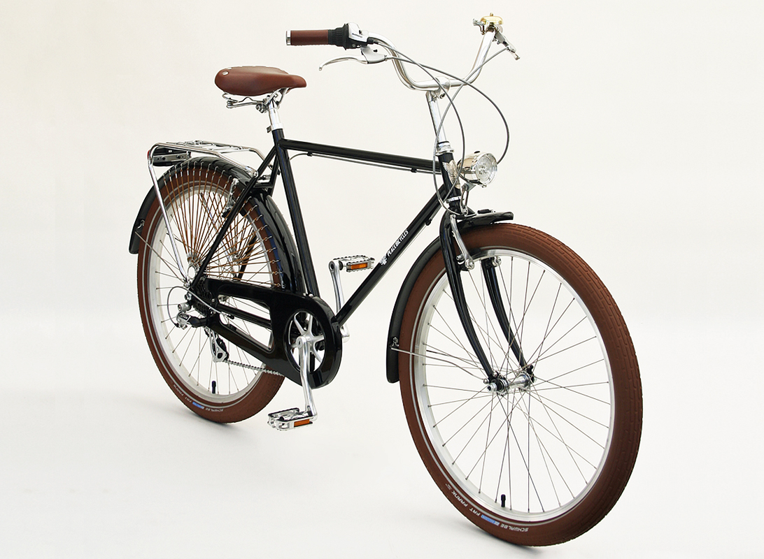 Diamond Frame Bike by Peace Bicycles - Sporty Vintage Commuter Cruiser