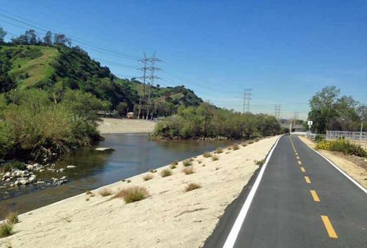 Glendale Narrows Bike Path