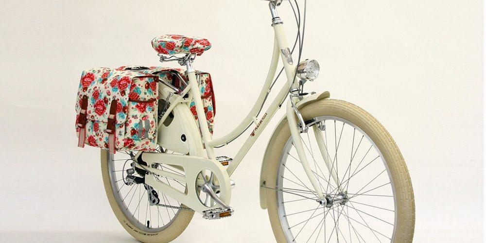 ladies bike with bags
