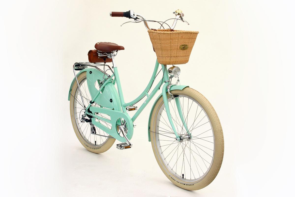 Step Through Bike - Vintage Dutch style City Bike | Peace Bicycles