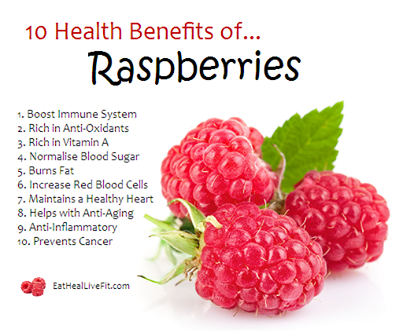 eat raspberries tips to live a healthy lifestyle
