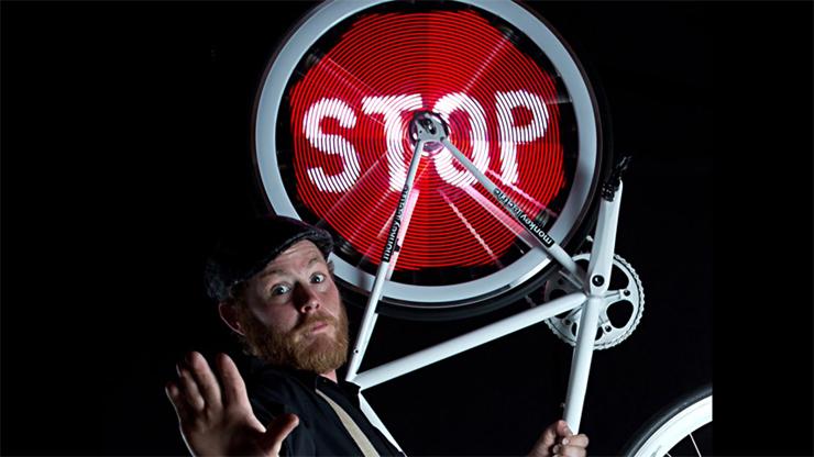 Monkey Light Wheel Display