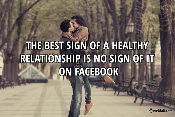 no facebook tip healthy lifestyle