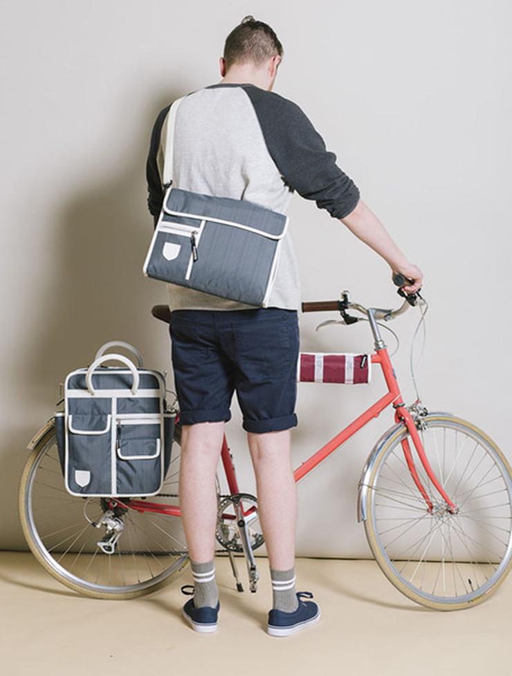 cool picnic pannier bag