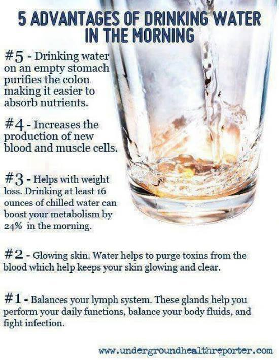water advantages tips to live a healthy lifestyle