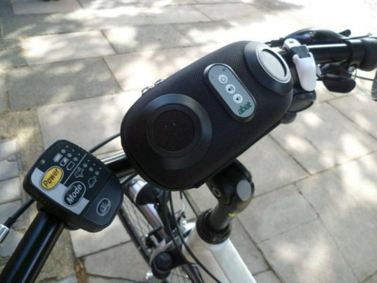 cool bike accessories 3d surround music system