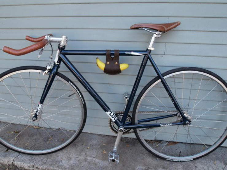 cool bike accessories banana holder