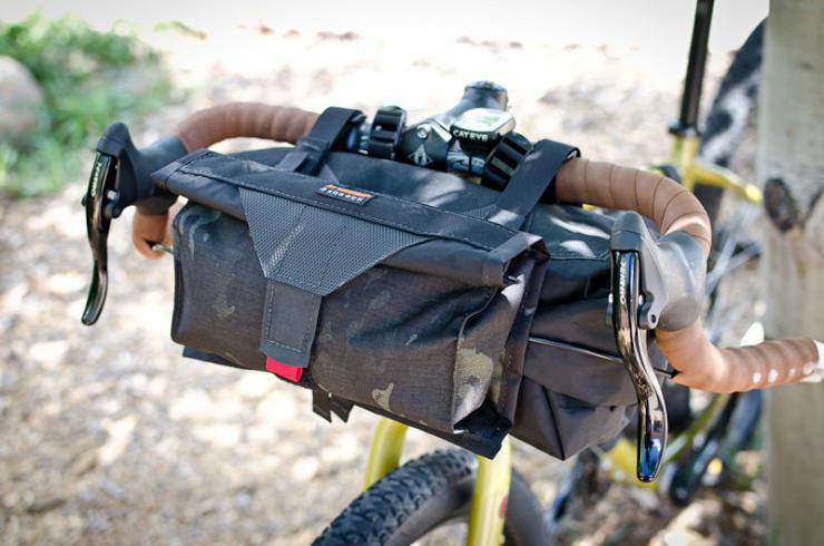 cool bike accessories bedrock handlebar bag