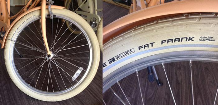 26 women's cruiser bike cream tires