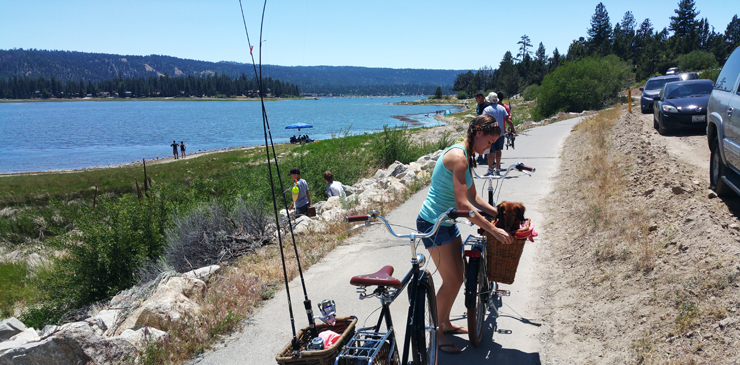 big bear lake bike trail