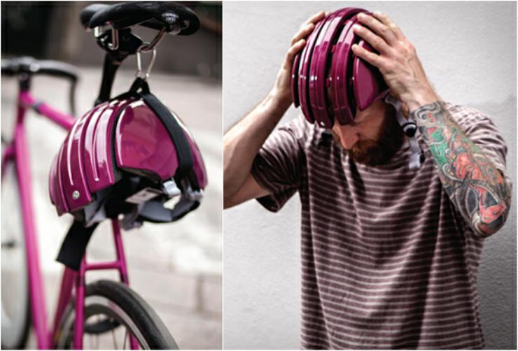 carrera foldable helmet cool bike accessories