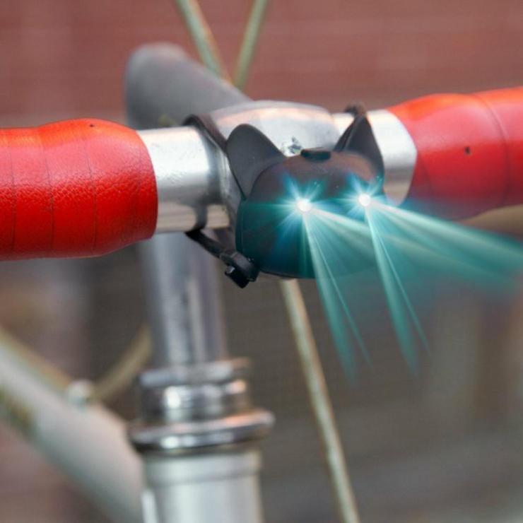 cool bike accessories cat light
