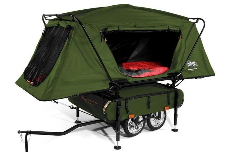 cool bike accessories bike camper