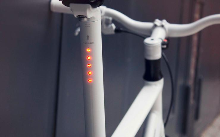 cool bike accessories seat light