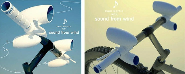 cool bike accessories sound from wind