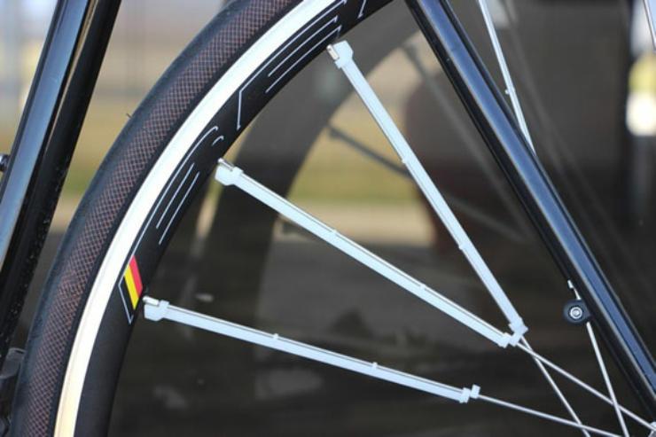 cool bike accessories spoke fins