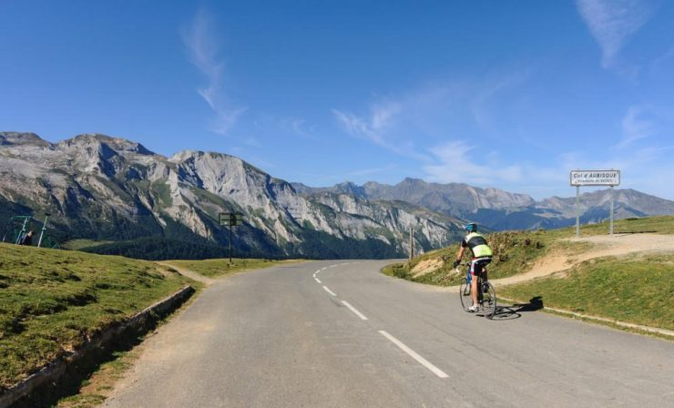 a health benefit of bicycling is expanding your comfort zone on a solo road ride