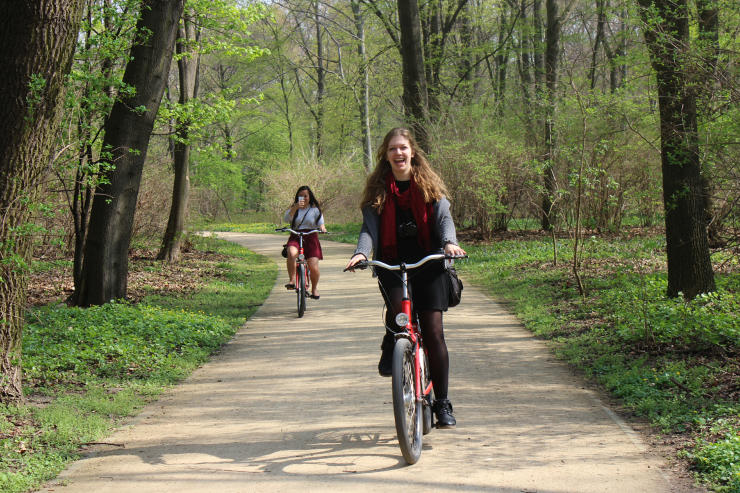 Cardio is a great benefit of bicycling