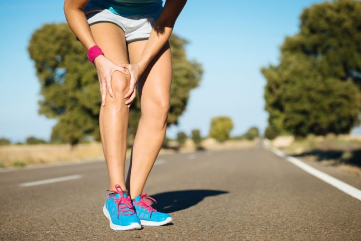 avoiding knee pain while running is a health benefit of biking