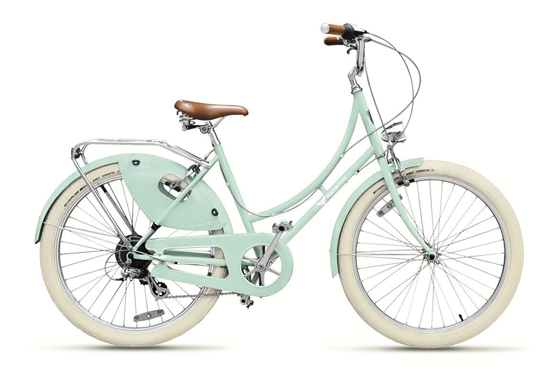 step thru bikes dreamer seafoam