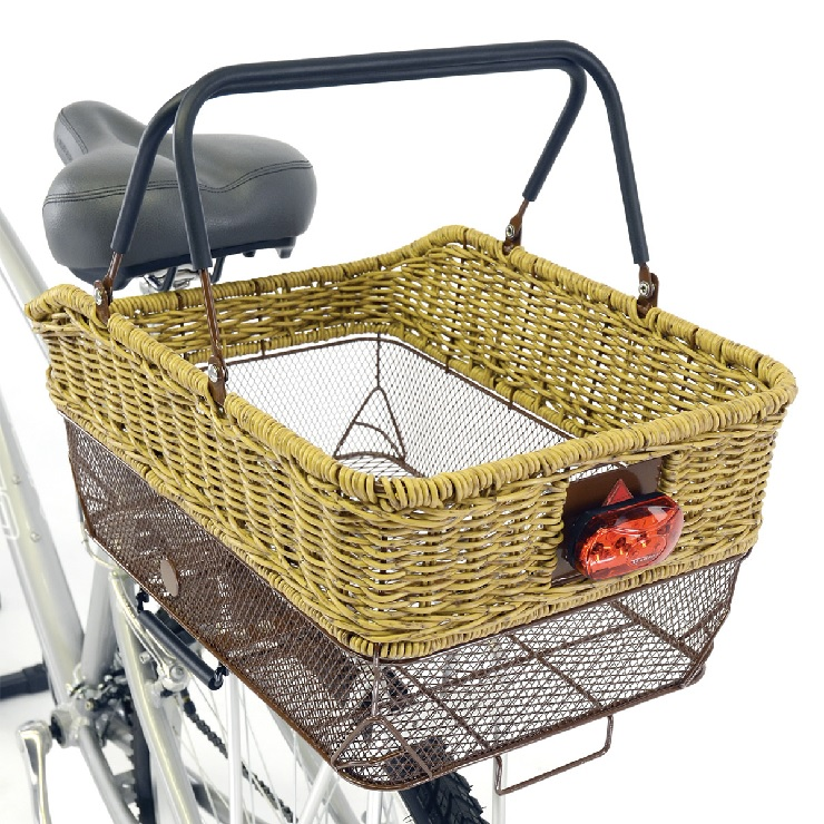 womens bike with rear basket