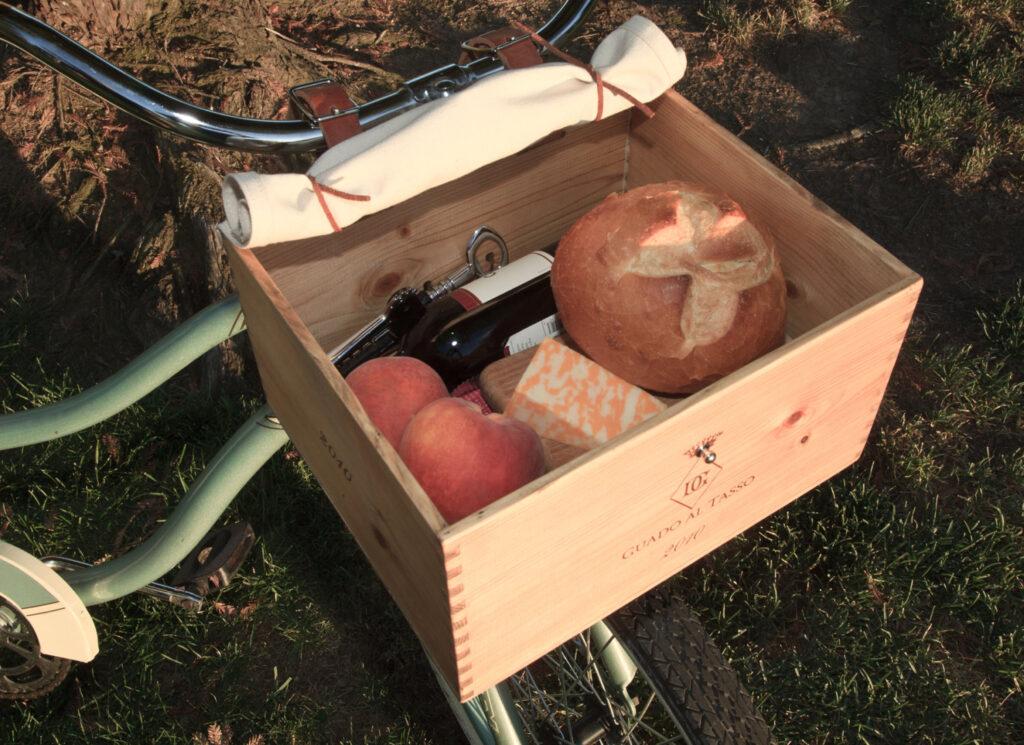 womens bike with a basket