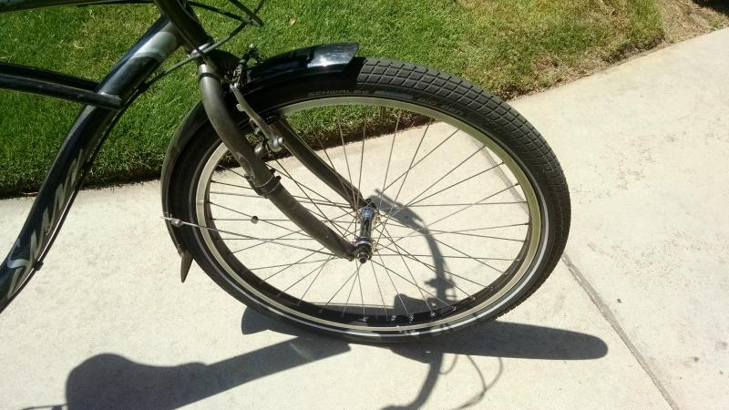 beach cruiser tires narrow