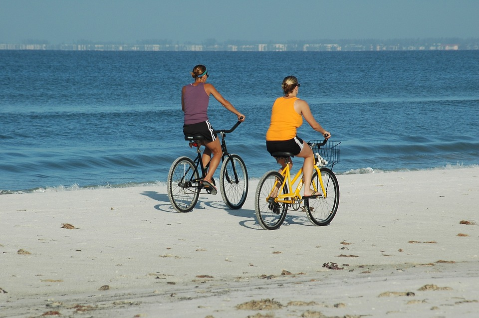 beachcomber bike on sand