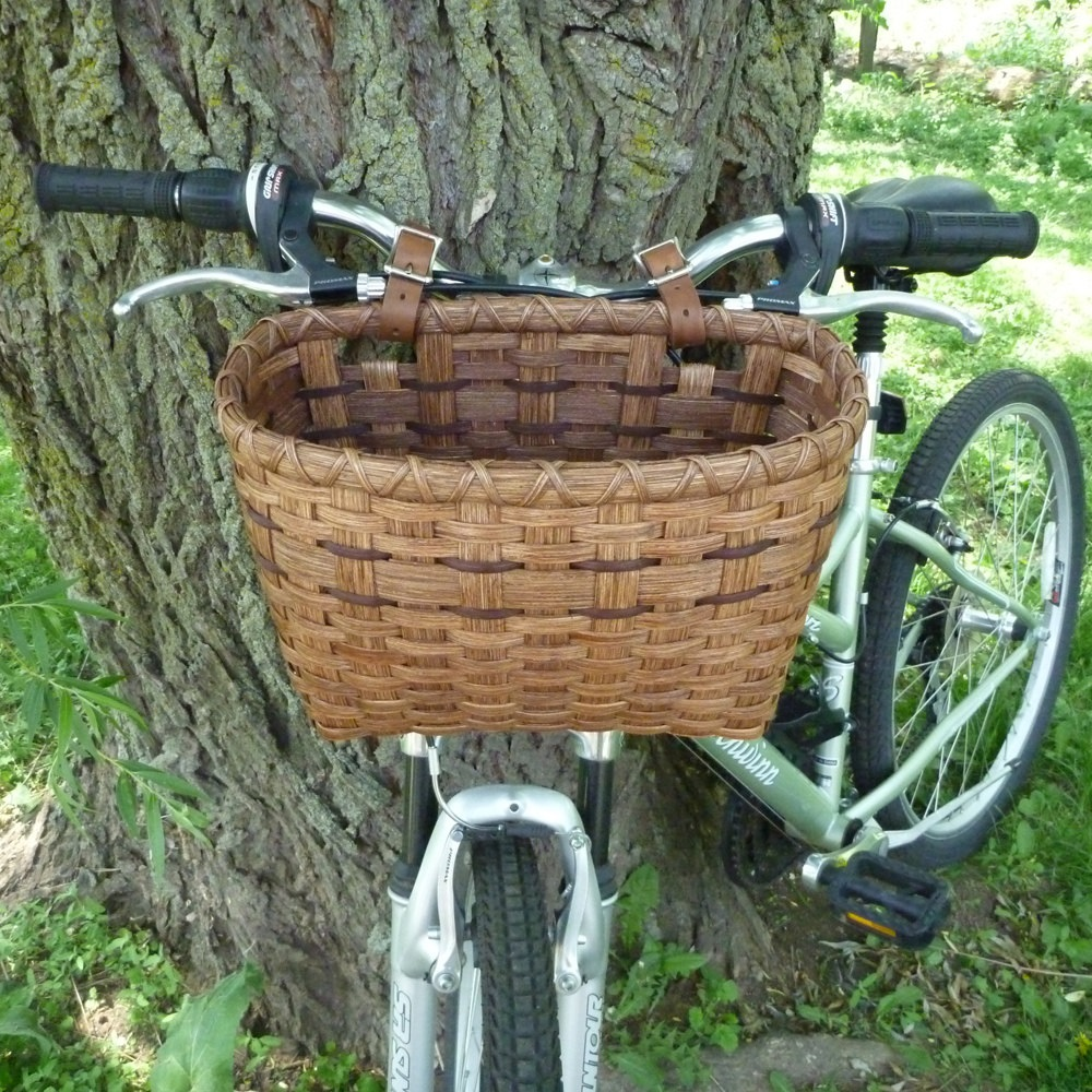 classic bicycles with basket