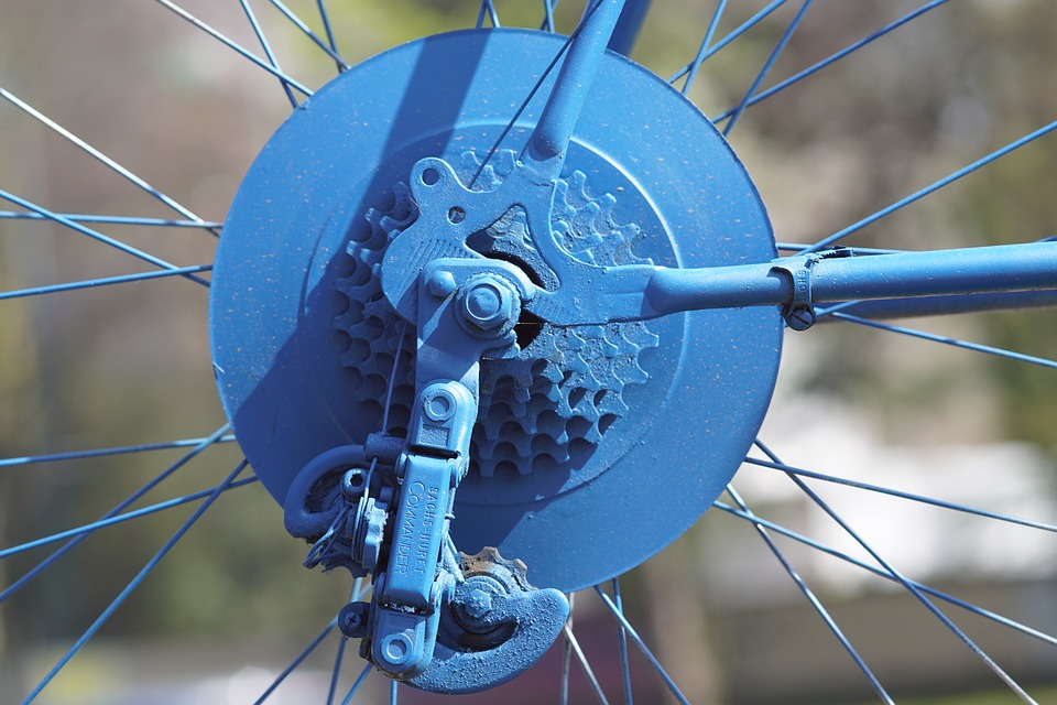 blue beach beach cruiser bike gears
