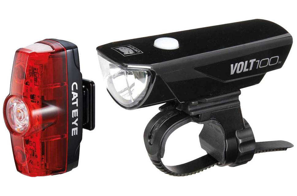 cateye volt 100 bicycle light
