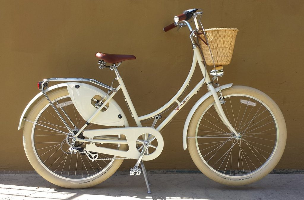 Peace Women's Cruiser Bike with Basket