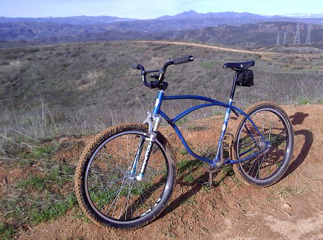 cruiser bike with coaster brakes