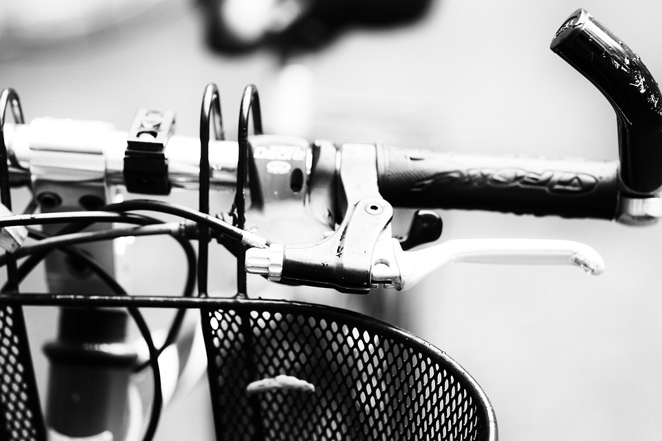 metal mesh bike basket