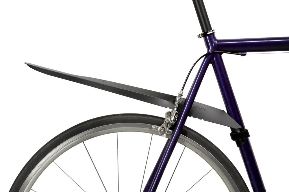 rear fender purple bike