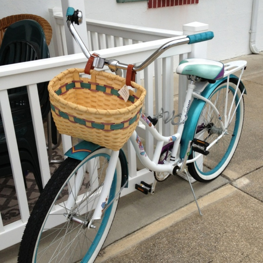 beachcomber bike with basket