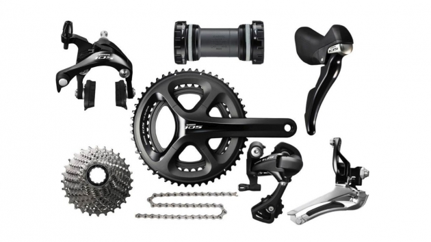 shimano 105 road bike derailleur