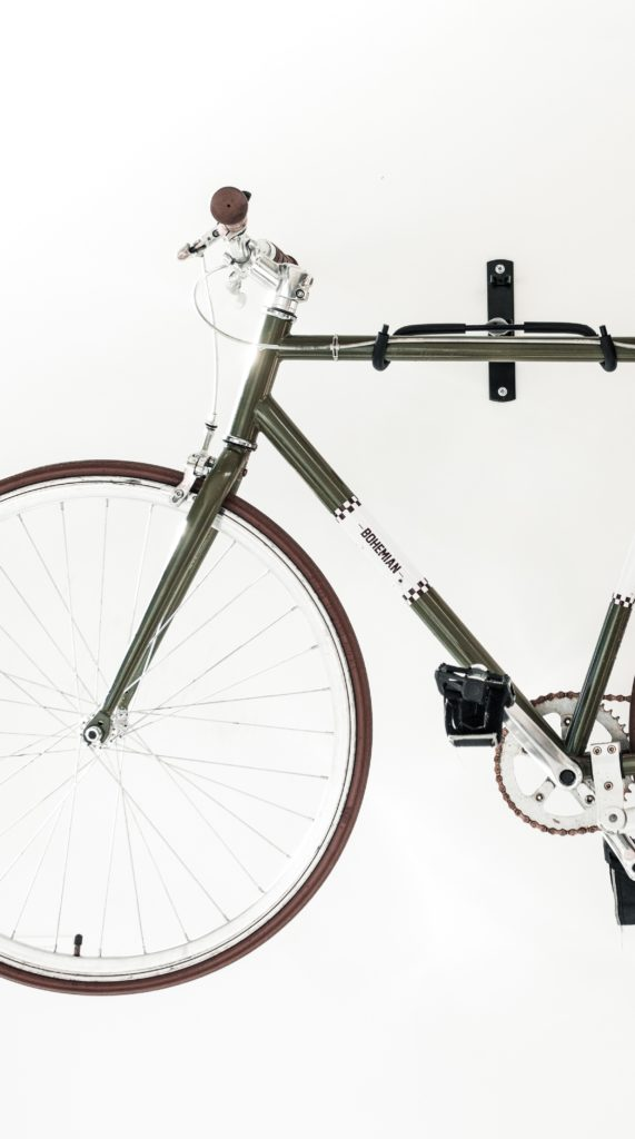 cruiser bikes wall mount
