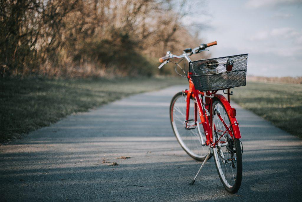 vintage bikes kickstand