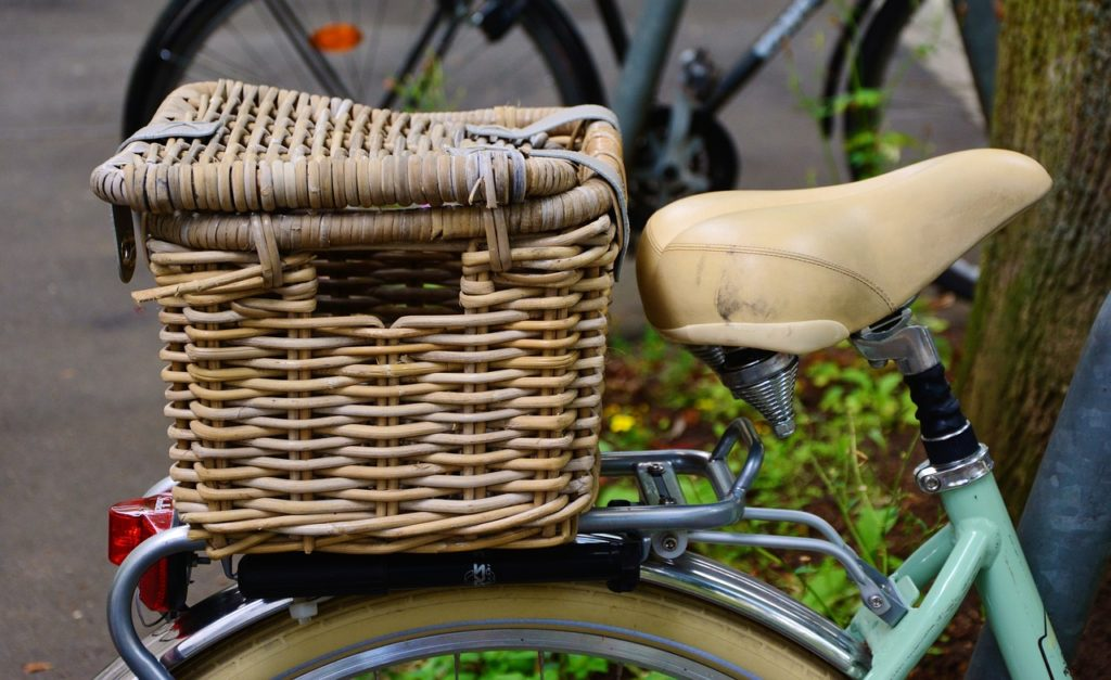 comfort bikes rear rack