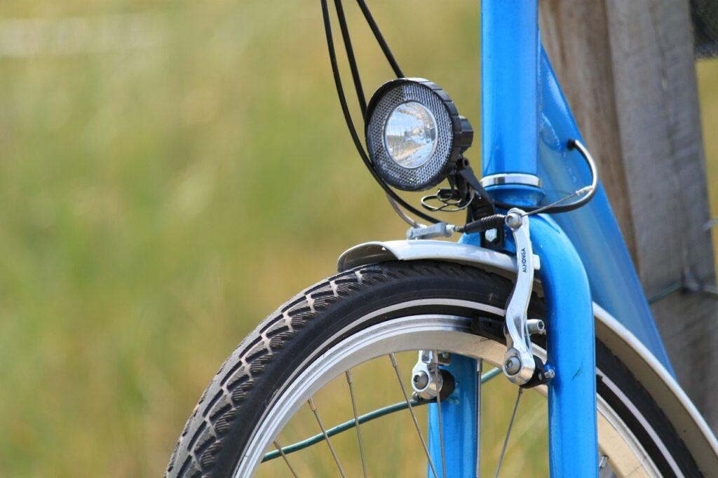 comfort bikes front light