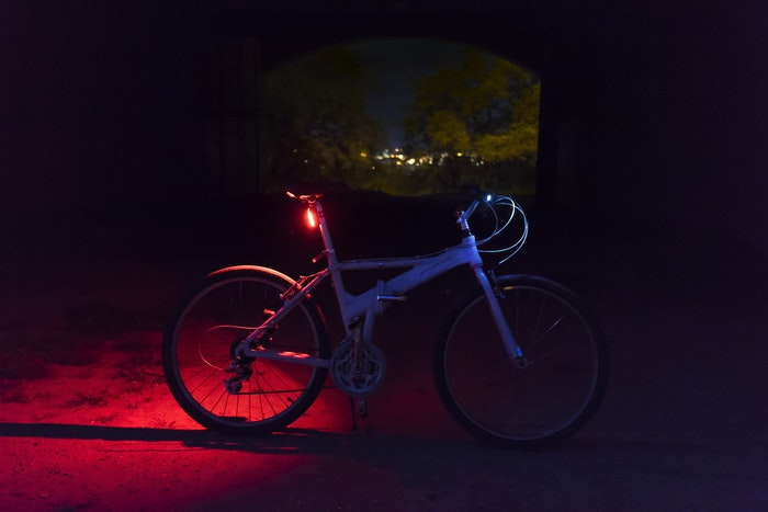 best bike for city riding rear light