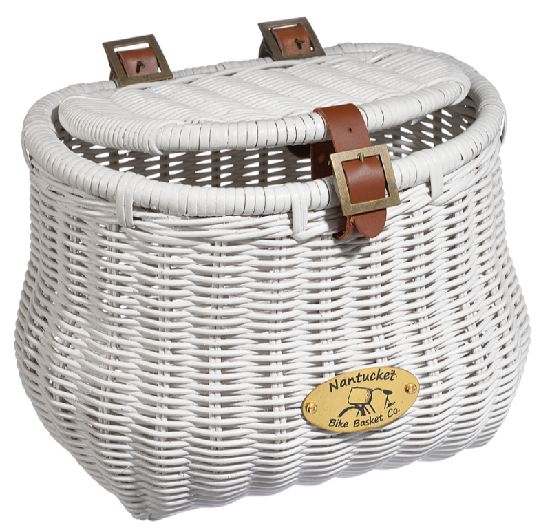 blue beach cruiser nantucket basket