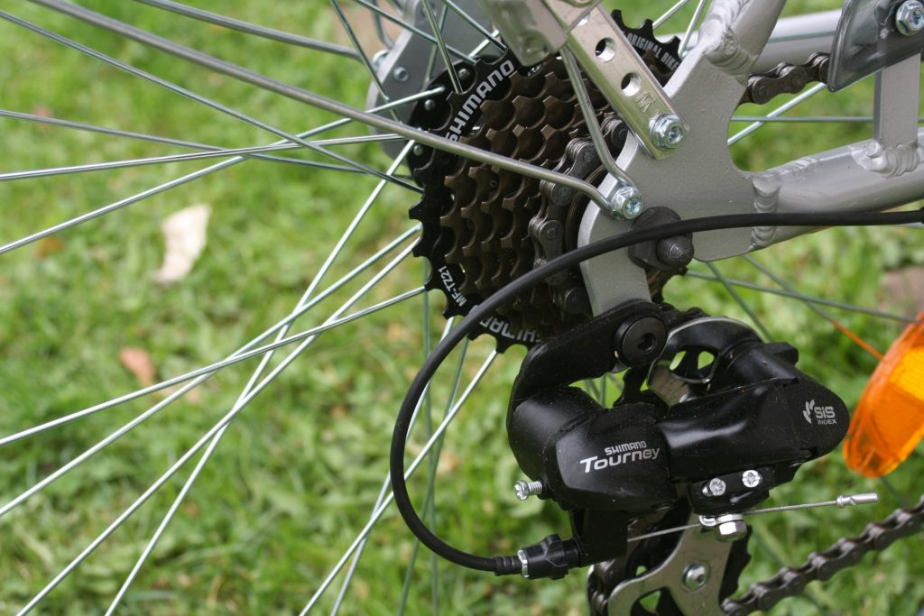 retro bicycles external drivetrain