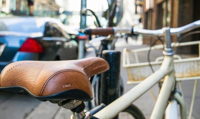 lightweight commuter bike saddle