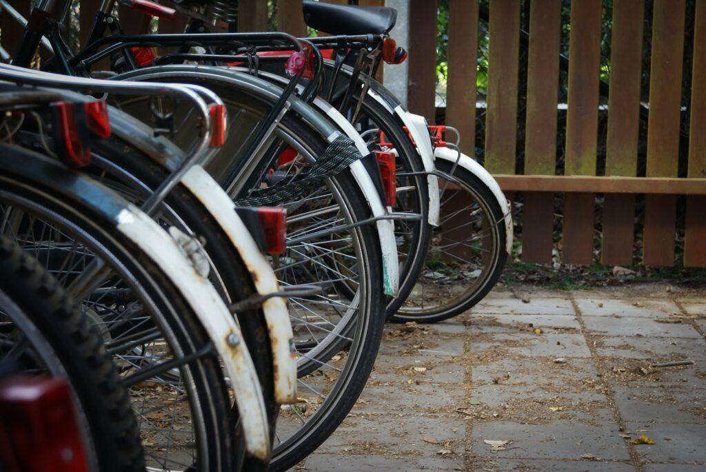 retro bicycles mudguards