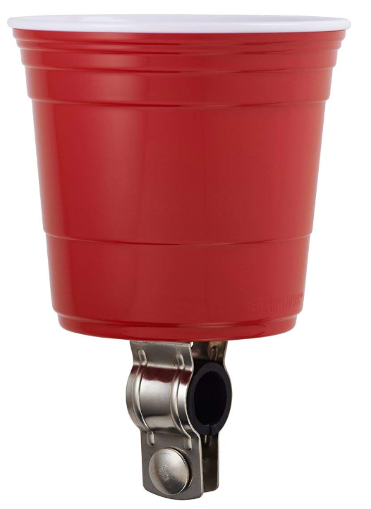 pink beach cruisers red cup holder