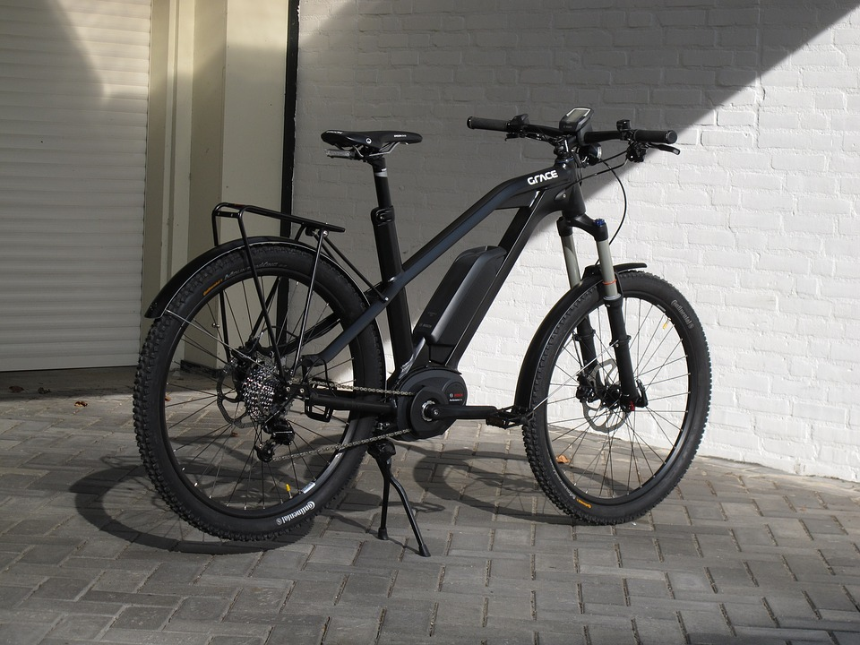electric bike for commuting black e-bike