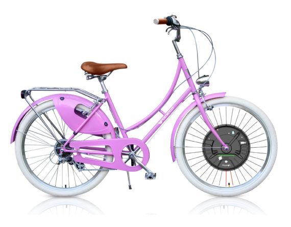 pink-front-wheel-elec-bicycle-3
