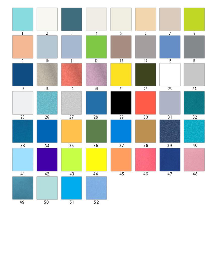 Peace-Color-chart